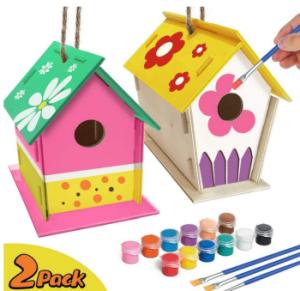 Vogelhaus zum selber zusammenbauen