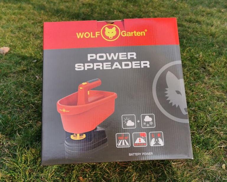 Wolf Garden Power Spreader Verpackung