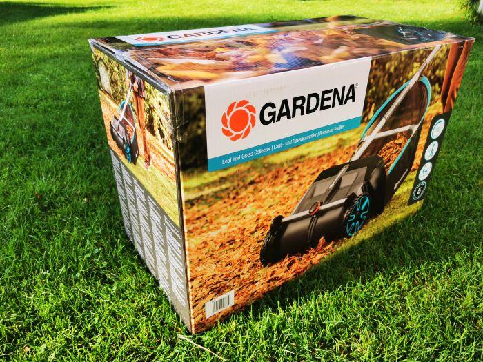 Gardena Laub- und Rasensammler OVP